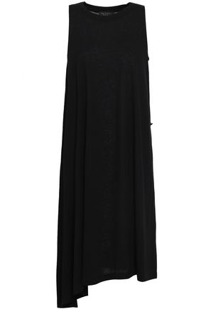 RAG & BONE Asymmetric slub jersey dress