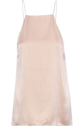 CAMI NYC The Vera ruffle-trimmed silk-charmeuse camisole