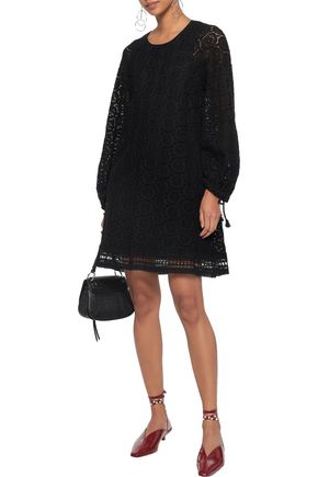 SEE BY CHLOÉ Cotton guipure lace mini dress