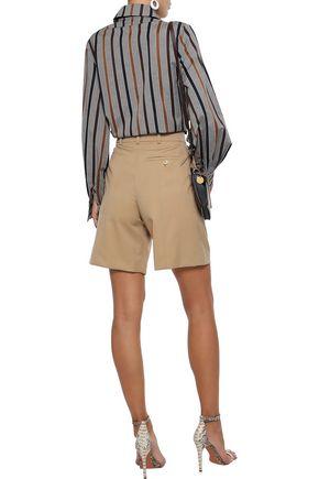 CHLOÉ Wool-twill shorts