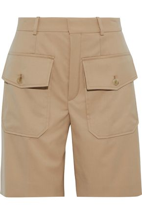 Wool Twill Shorts by ChloÉ