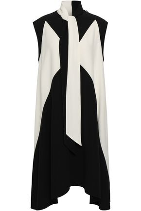 GIVENCHY Two-tone cady dress