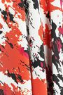 ROBERTO CAVALLI Draped printed silk crepe de chine midi dress