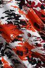 ROBERTO CAVALLI Cutout printed silk-georgette maxi dress
