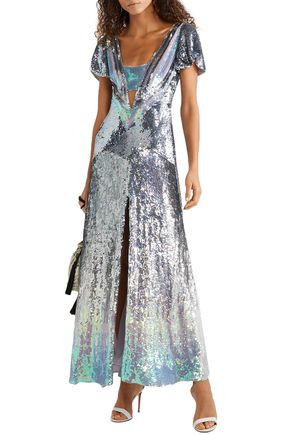 7f5534a5080 TEMPERLEY LONDON Ruth cutout sequined tulle gown