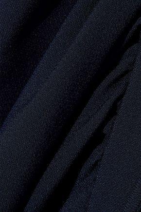 CHLOÉ Gathered crepe dress