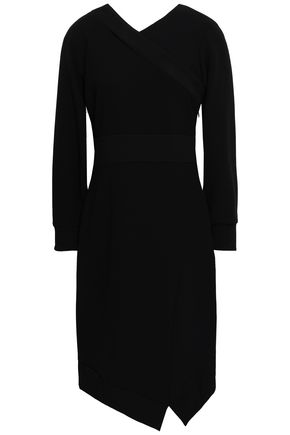BURBERRY Asymmetric crepe dress