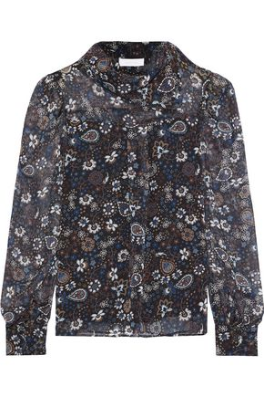 SEE BY CHLOÉ Floral-print georgette top