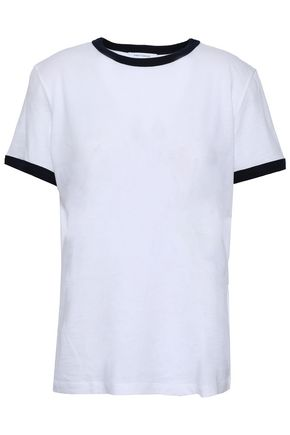 NINETY PERCENT Cotton-jersey T-shirt