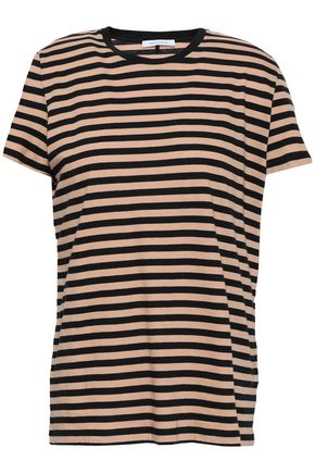 NINETY PERCENT Striped cotton-jersey T-shirt