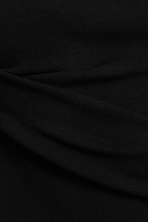 NINETY PERCENT Ponte midi dress