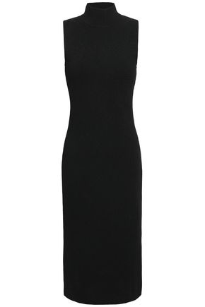 NINETY PERCENT Ponte midi dress