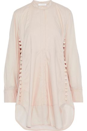 CHLOÉ Button-detailed cotton tunic
