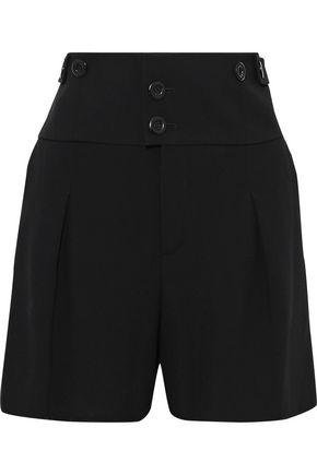 CHLOÉ Crepe-twill shorts