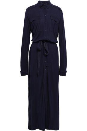 NINETY PERCENT Tencel-jersey maxi shirt dress