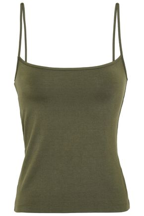NINETY PERCENT Stretch-Tencel camisole