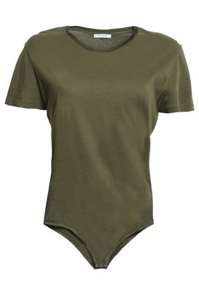 NINETY PERCENT Cotton-jersey bodysuit