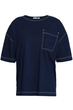NINETY PERCENT Oversized jersey T-shirt