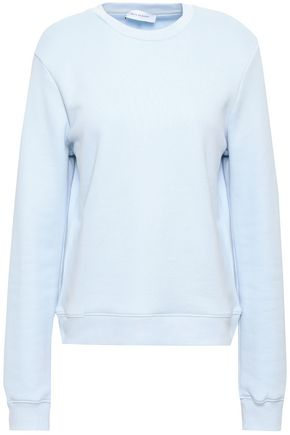 NINETY PERCENT French cotton-terry sweatshirt