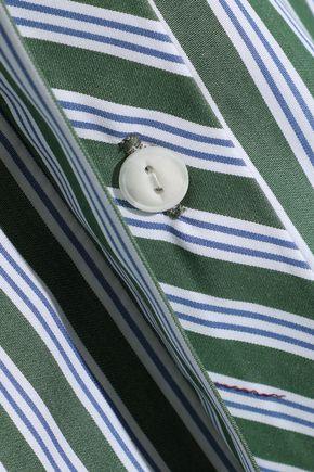 RAG & BONE Audrey striped cotton-poplin shirt