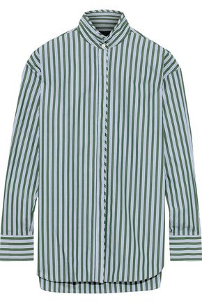 RAG & BONE Audrey striped cotton-poplin shirt