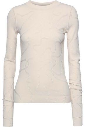 HELMUT LANG Jacquard-knit top