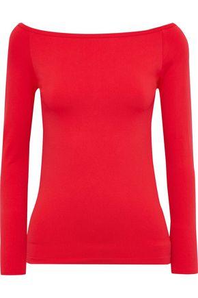 HELMUT LANG Off-the-shoulder stretch-jersey top