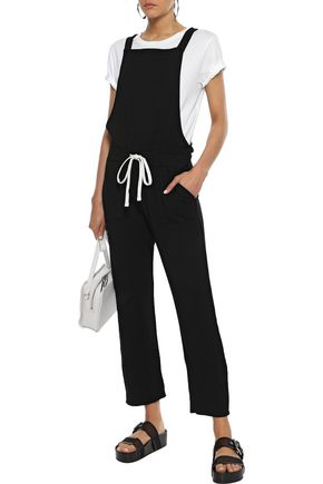 MONROW French-terry overalls
