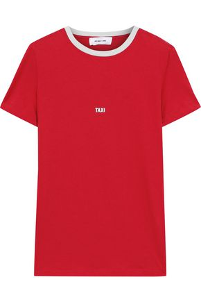 HELMUT LANG Taxi printed cotton-jersey T-shirt