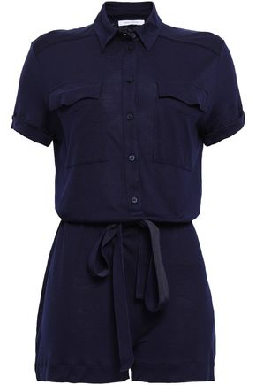 NINETY PERCENT Tencel-jersey playsuit