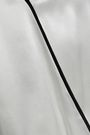CAMI NYC Wrap-effect silk-satin bodysuit