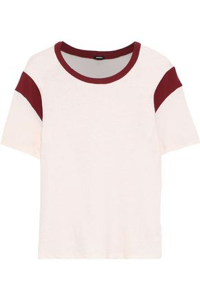MONROW Slub cotton-jersey T-shirt