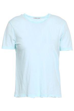 COTTON CITIZEN Distressed Supima cotton-jersey T-shirt