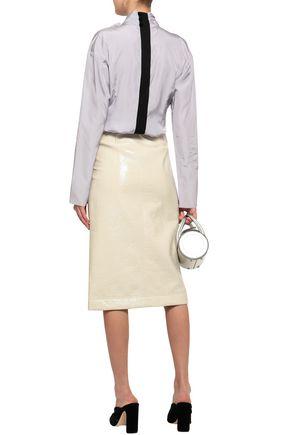 MARC JACOBS Bow-embellished taffeta blouse