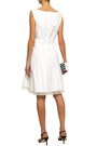 MARC JACOBS Belted cotton-canvas dress