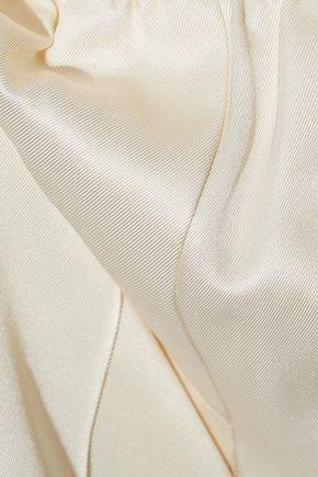 HELMUT LANG Silk and Tencel-blend twill shorts