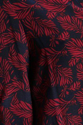 DIANE VON FURSTENBERG Printed silk crepe de chine shirt