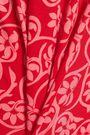DIANE VON FURSTENBERG Floral-print cotton and silk-blend jersey midi dress