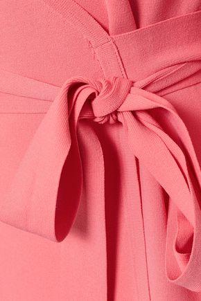 DIANE VON FURSTENBERG Stretch-knit wrap dress