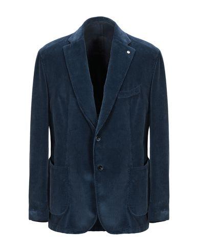 Фото - Мужской пиджак L.B.M. 1911 синего цвета
