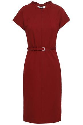 DIANE VON FURSTENBERG Belted ponte dress