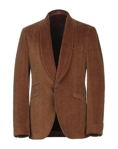 Фото - Мужской пиджак MAURIZIO MIRI коричневого цвета