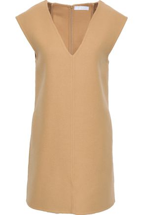 CHLOÉ Wool-blend felt mini dress