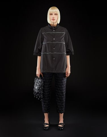 Moncler View all Outerwear Woman: SILVER