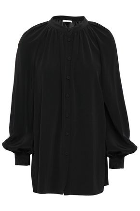 CO Gathered cady blouse