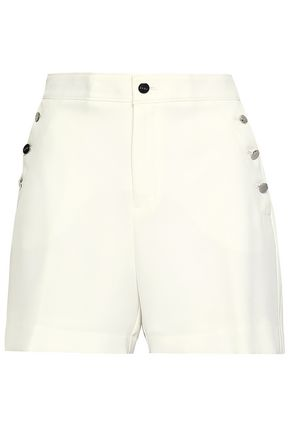 DKNY Stretch-crepe shorts