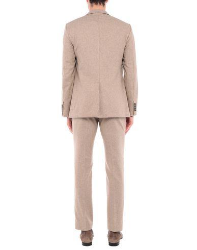 Фото 2 - Мужской костюм  цвет песочный