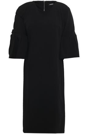 DKNY Fluted crepe dress