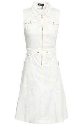 DKNY Stretch-cotton poplin dress