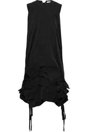 J.W.ANDERSON Tiered taffeta midi dress